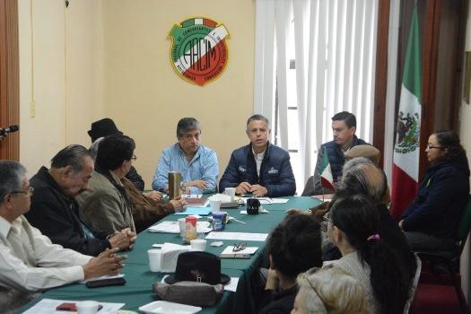 Expone Chucho Nader avances de su Gobierno ante socios de la ARCIM