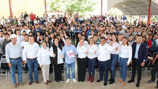 Lleva DIF Tamaulipas pláticas motivacionales a jóvenes de secundaria y preparatoria