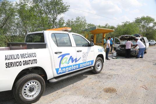 """""""Ángeles Azules Tam"""" cumple primer año de servicio"""