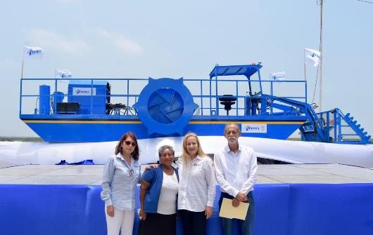 Arranca limpieza de laguna Champayán