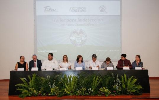 Fortalece DIF Tampico acciones en contra del Abuso Infantil