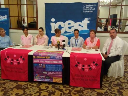 Cada vez mujeres más jóvenes enferman de cáncer de mama