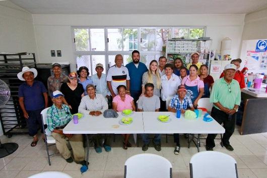 Contribuye DIF Altamira a sana alimentación de personas vulnerables