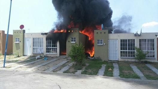 En aumentan incendios en casas-habitación