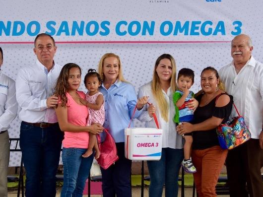 Beneficia Gobierno de Altamira a CAICs con el programa Omega 3, Nutrición para Todos