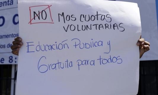 Cuentas Claras …  –  Y se acabó el cobro de cuotas en escuelas