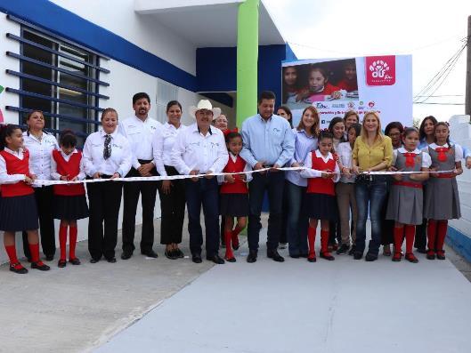 Inaugura gobernador comedor en Escuela Miguel Hidalgo de San Fernando