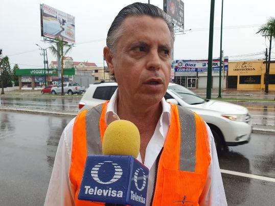 Atiende alcalde oportunamente las afectaciones por las lluvias