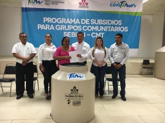Programa de Subsidios para Grupos Comunitarios SEBIEN-CMT