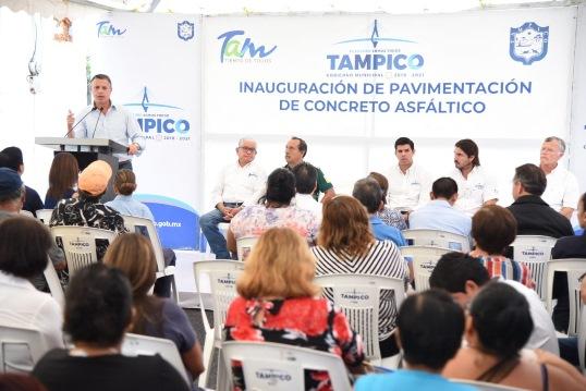 Atienden rezago en sectores más antiguos de Tampico