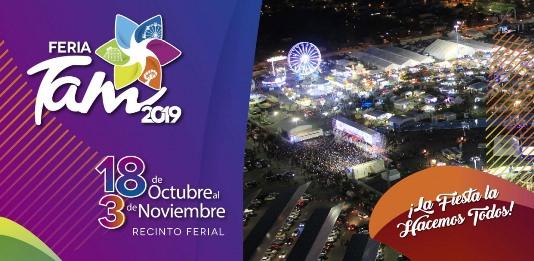 Visitan la Feria TAM 2019 más de 180 mil personas