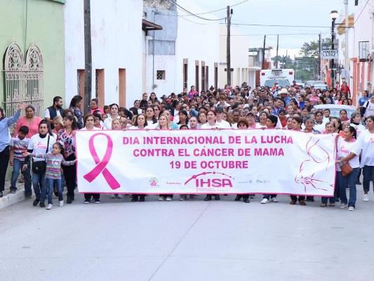 3ra. marcha por la lucha contra el cáncer de mama