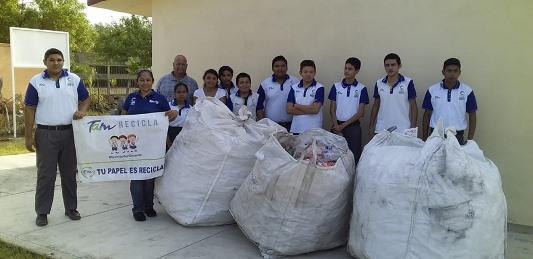 Más de 10 escuelas se suman a TAM recicla
