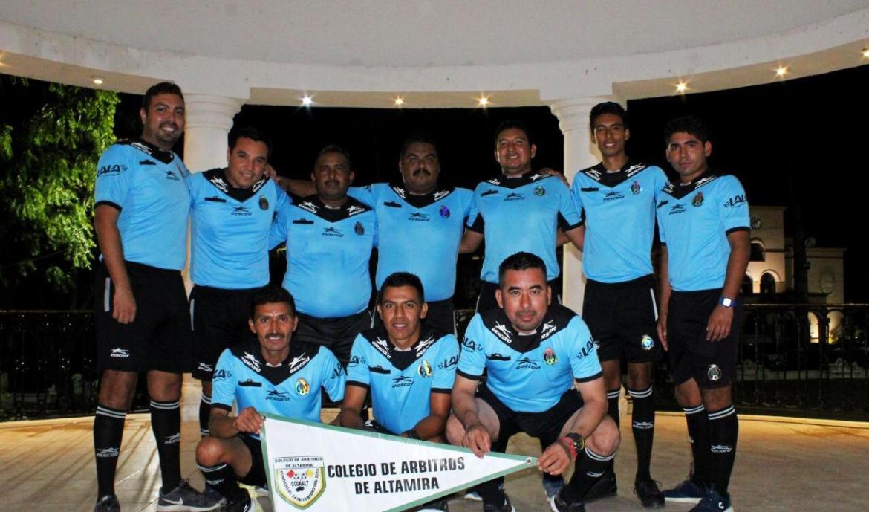 Colegio de Árbitros de Altamira listos para temporada 2019-20