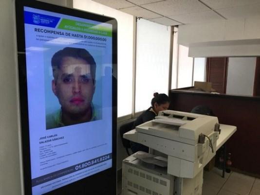 Instalan en la fiscal de Tampico pantalla con datos de desaparecidos