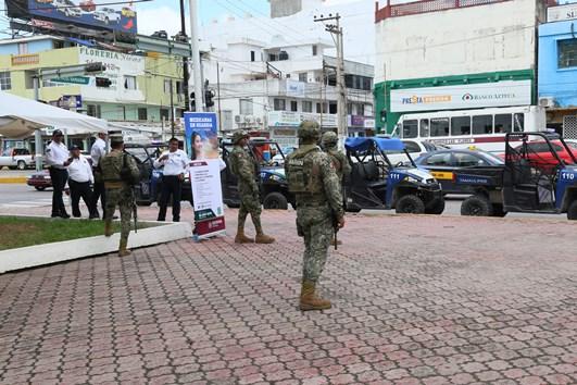 Instalan en Madero módulo de Reclutamiento para la Guardia Nacional