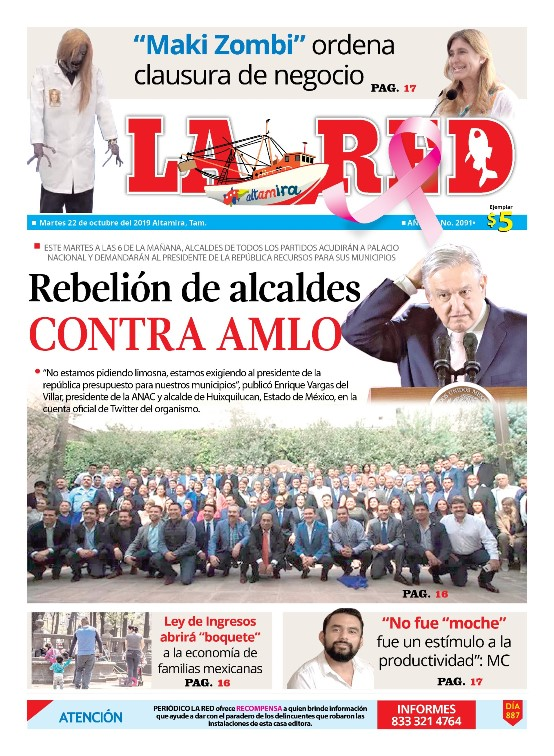 Rebelión de alcaldes CONTRA AMLO