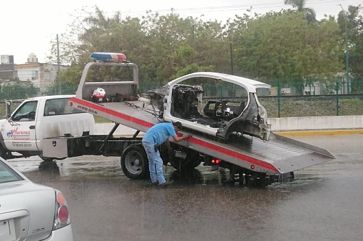 Tránsito da ultimátum a propietarios de autos chatarra