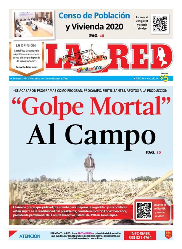 """Golpe Mortal"" Al Campo"