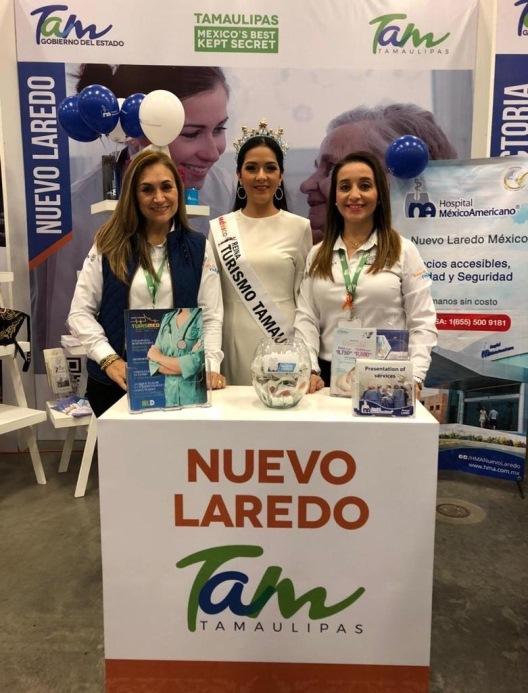 Promocionan a Nuevo Laredo en Winter Texans Expo