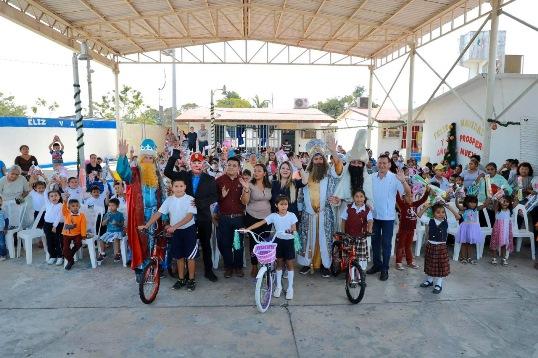 Festejan Día de Reyes en las diferentes localidades rurales