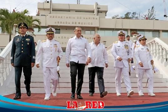 Cambio de mando en la Primera Zona Naval