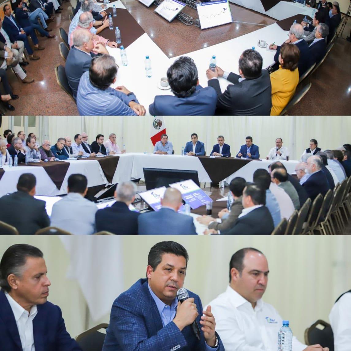 Sostiene Gobernador encuentro con sectores productivos del sur de la entidad