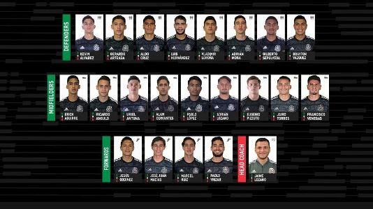 Guadalajara y Pachuca encabezan convocatoria de Tri Sub-23