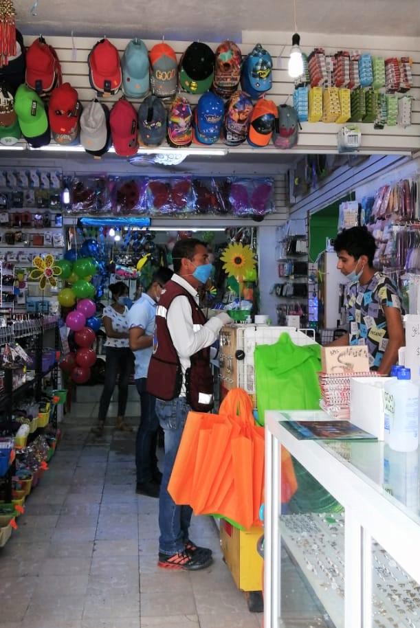 Supervisa Protección Civil comercios de Ciudad Madero
