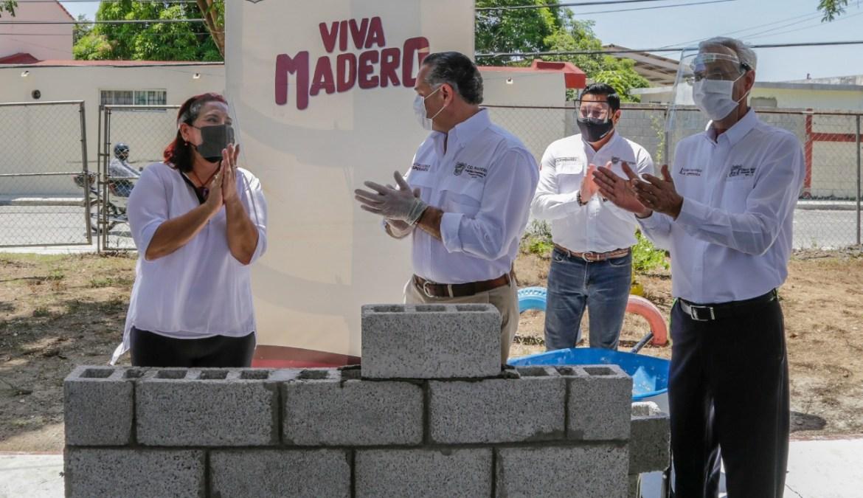 Gobierno de Adrián Oseguera mejora las instalaciones educativas