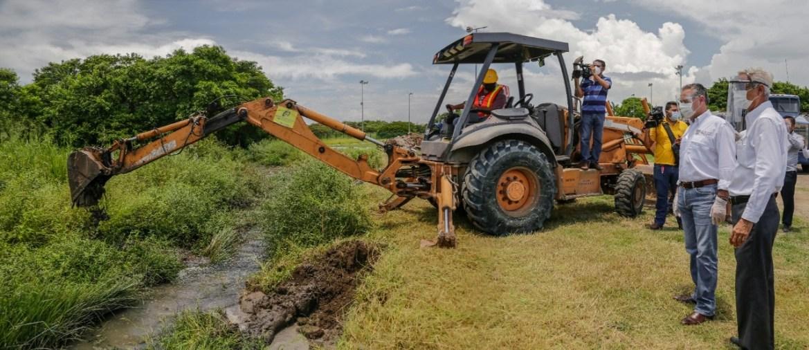 Logran rescate del sistema de red pluvial del municipio