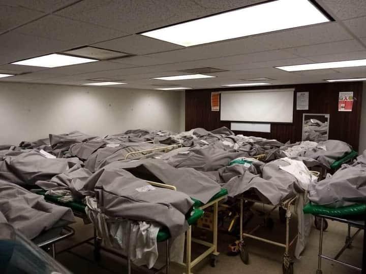 Hospital IMSS, almacén de la muerte