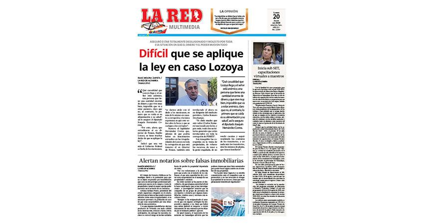 Difícil que se aplique la ley en caso Lozoya