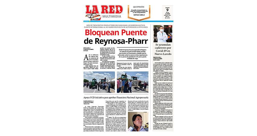 Bloquean Puente de Reynosa-Pharr