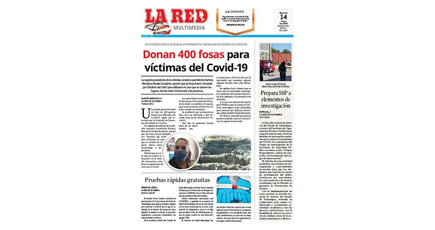 Donan 400 fosas para víctimas del Covid-19