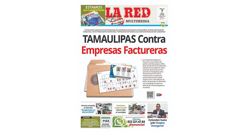 TAMAULIPAS Contra Empresas Factureras