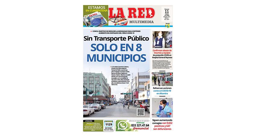 Sin Transporte Público solo en 8 municipios