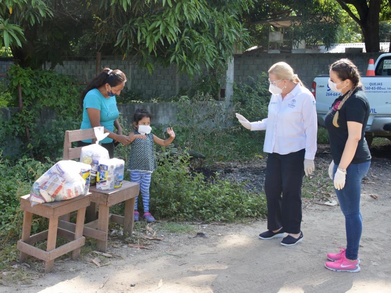 Llevan apoyo a familias de la zona rural de Altamira