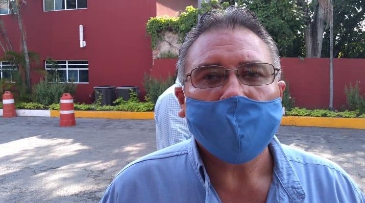 Denuncian peligroso edificio en Madero