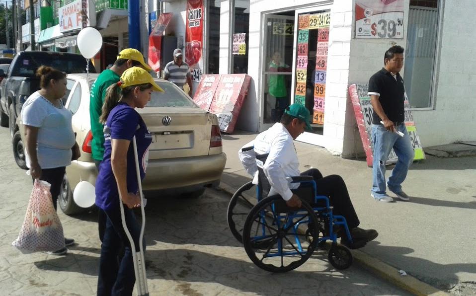 Existe discriminación para personas con discapacidad