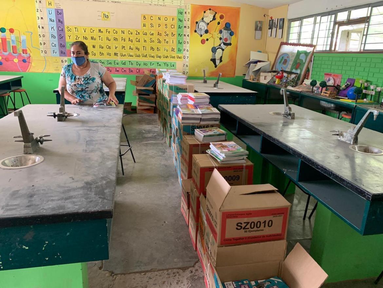 Avanza distribución de Libros de Texto Gratuitos para ciclo escolar 2020-2021