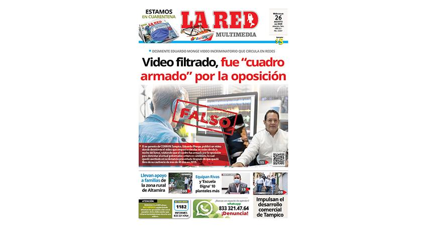 """Video filtrado, fue """"cuadro armado"""" por la oposición"""