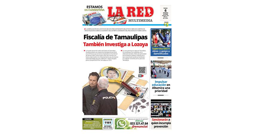 Fiscalía de Tamaulipas también investiga a Lozoya