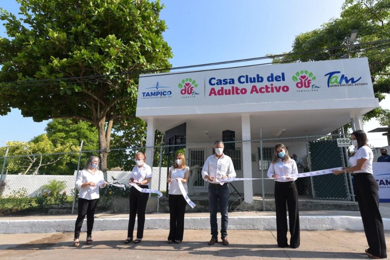 Inauguran nueva Casa Club del Adulto Activo