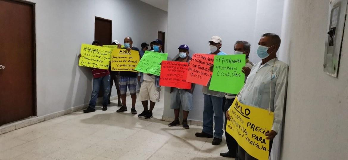 Nueva protesta de pescadores