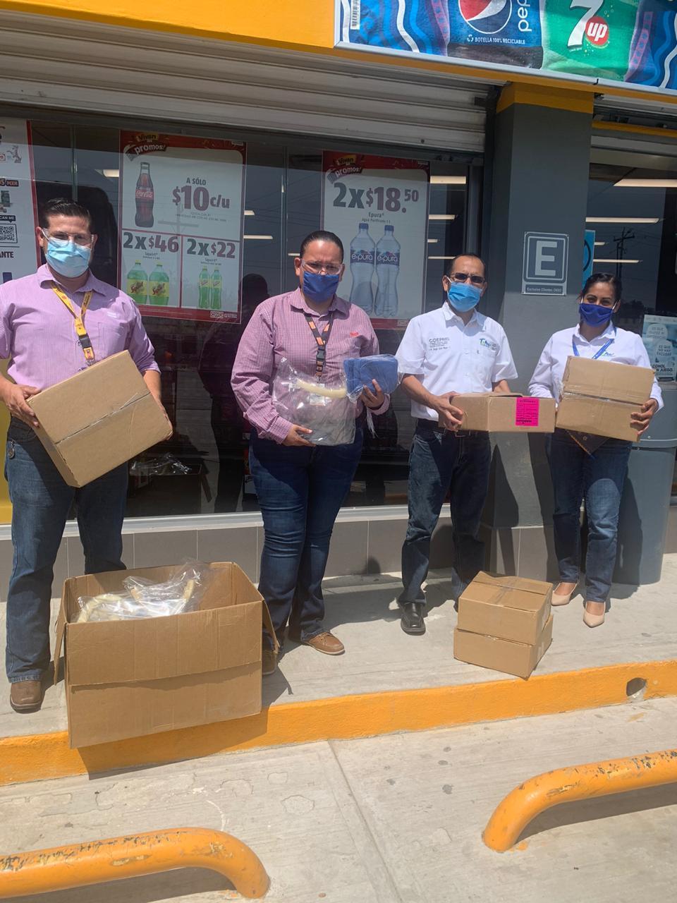 Entrega OXXO apoyo a Coepris San Fernando