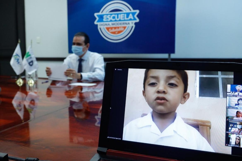 Beneficia a dos escuelas el programa 'Mi Escuela Digna, Moderna y Saludable'