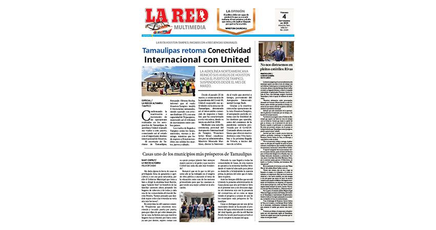 Tamaulipas retoma Conectividad Internacional con United