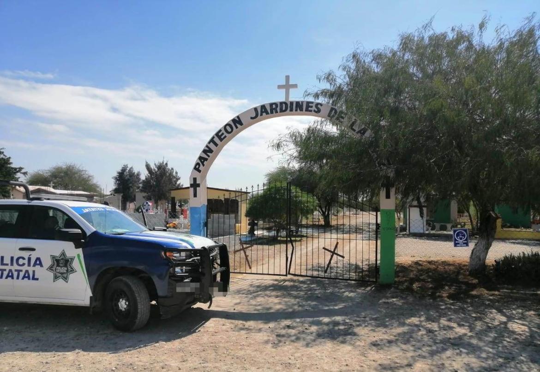 Cerrados los panteones en los 43 municipios de Tamaulipas