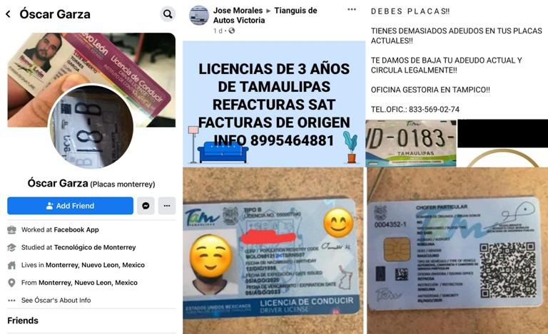 ADVIERTEN FRAUDE EN TRÁMITES OFRECIDOS EN REDES SOCIALES DE LICENCIA DE MANEJO Y PLACAS